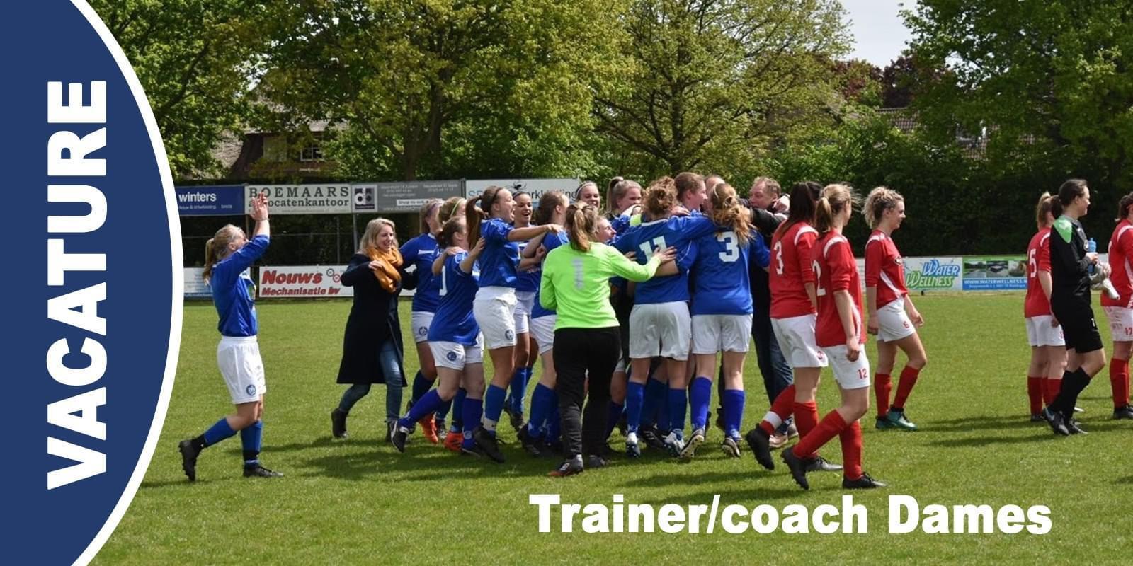 Vacature trainer/coach Dames